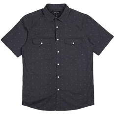 košela BRIXTON - Wayne Washed Black 0141 (0141)