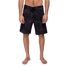plavky BODY GLOVE - Monstera Boardshort Black Palm (BLACK PALM)