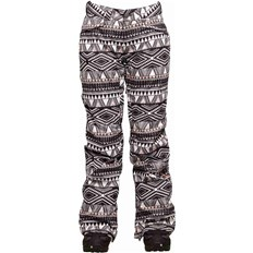nohavice BONFIRE - Emerald Pant Print Ebony And Ivory Print (EBO)