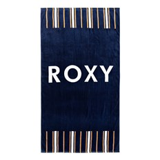 osuška ROXY - Hazy Mix Medieval Blue Macy Stripe Swim (BTE3)
