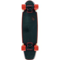 cruiser SKATE DESIGNS - B-15 Beveler Rocker Black (BLACK/RED)