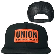 šiltovka UNION - Trucker Hat - Patch Black (BLACK)